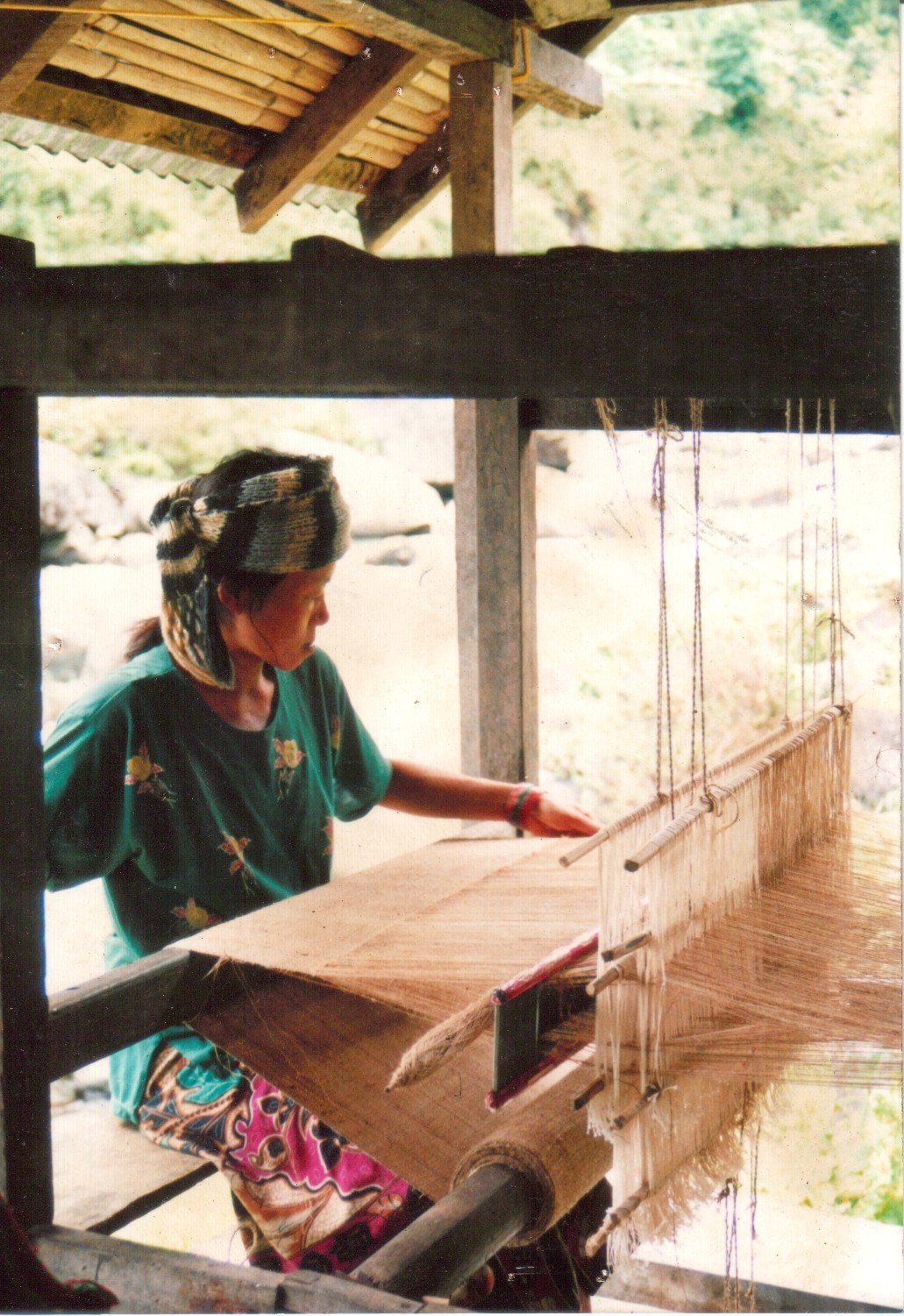 Allo Weaving in Nepal