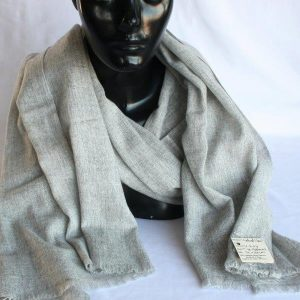100% Cashmere Natural Shawl