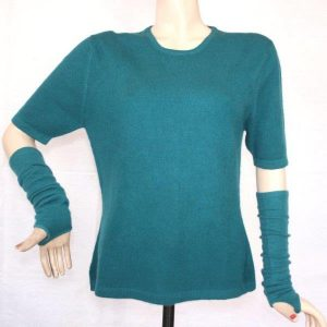 Ladies 100% Cashmere Half T-shirt