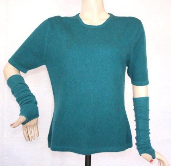 Ladies 100% Cashmere Half T-shirt