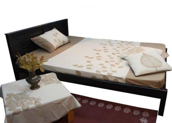 Cotton Wood Design Bed Sheet
