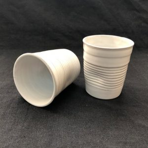 Stoneware Plastic Design Glass