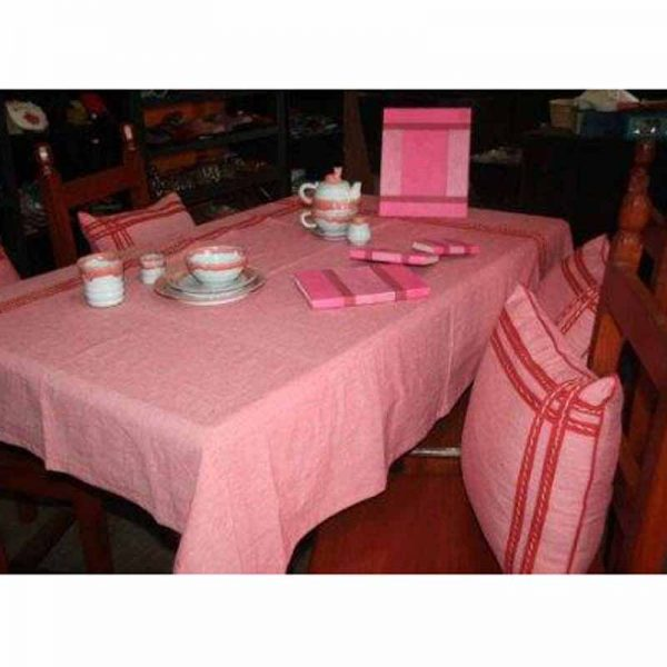 100% Cotton Stripe Table Cover