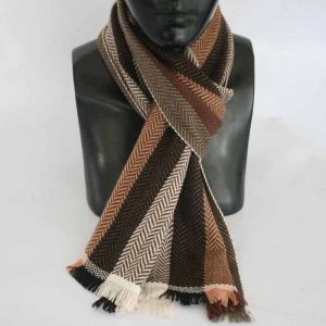 Double Sheep Wool Jakart Scarf