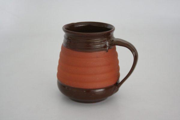 Half Glaze Beer Mug