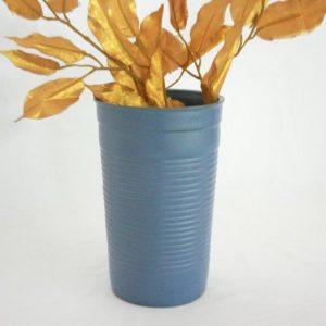 Stoneware Plastic Design Flower Vase