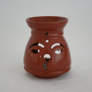 Earthenware Ceramic Aroma Pot Small