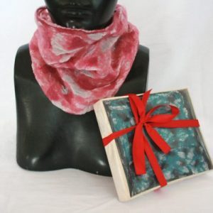 X-mas Felt Hand & Neck Warmer