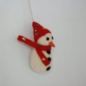 X-mas Hanging Snowman