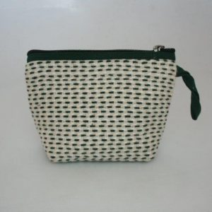 Heavy Yarn Cotton and Viscose Round Purse