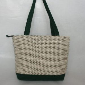 Heavy Yarn Cotton and Viscose Ladies Bag