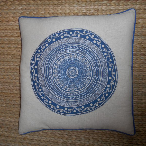 Mandala Print Cushion Cover