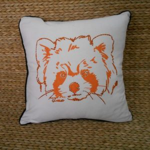 Red Panda Cushion Cover