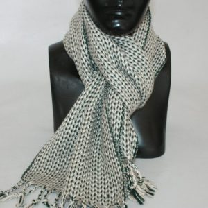Heavy Yarn Cotton and Viscose Muffler