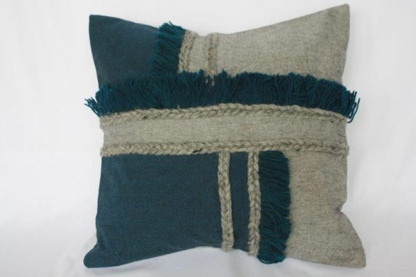 Shyama Cotton Wool Mix Cushion Cover
