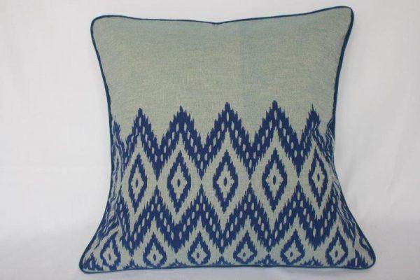 Dhaka Print Bed Cushion Cover