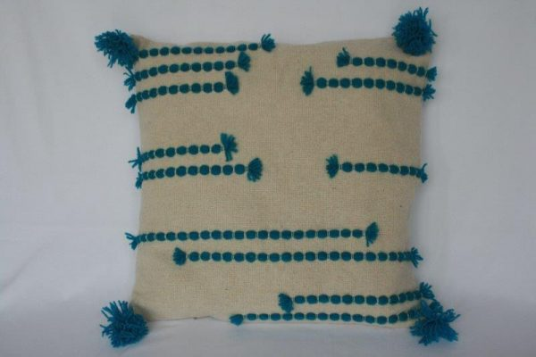 Single Color Wool Cushion Cover