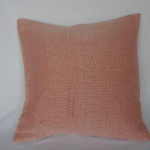 Khaddar Cloth Cross Design Cushion Cover