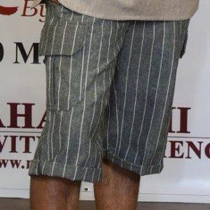 Stripe Half Pant