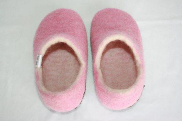 Felt U Shapa Children Shoes
