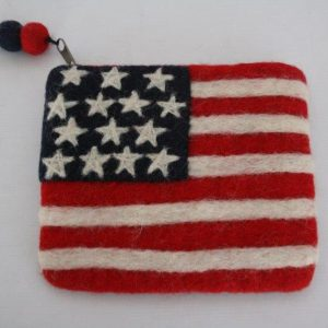 Felt US Coin Purse