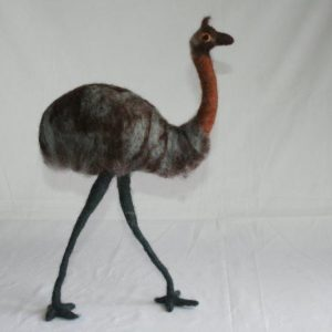 Felt Emu