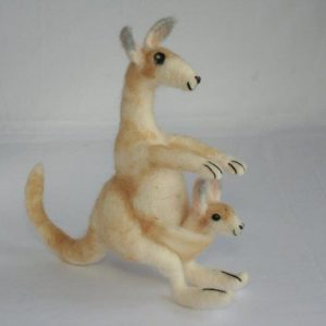 Felt Decoration Kangaroo