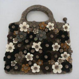 Felt Flower Bag