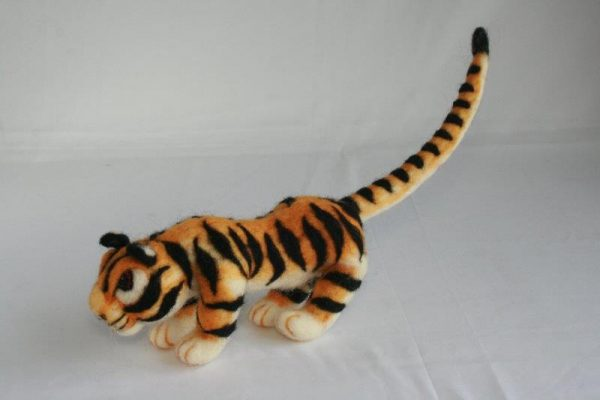 Felt Decoration Tiger A