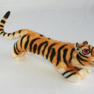 Felt Decoration Tiger