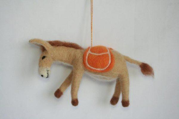 Felt Decoration Donkey