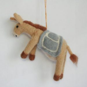 Felt Decoration Donkey