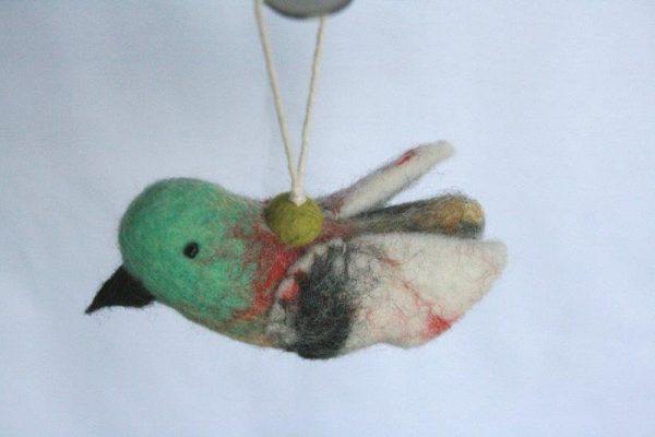 Felt Hanging Bird