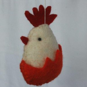 Felt Hanging Chicken