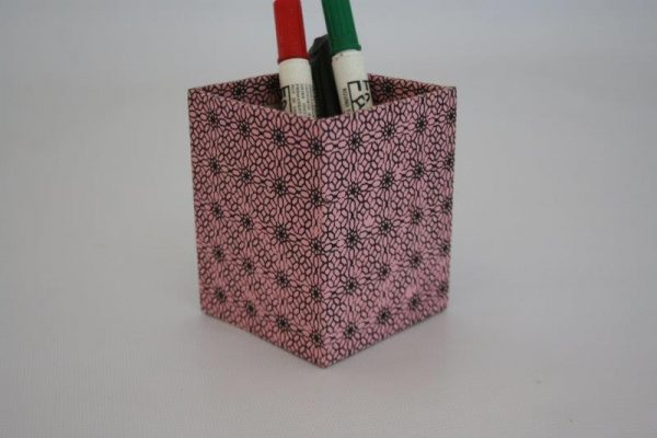 Shashiko Range Pencil Holder