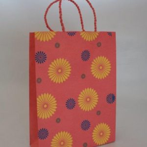 Three Flower Range Shopping Bag