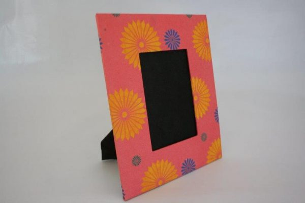 Three Flower Range Photo Frame