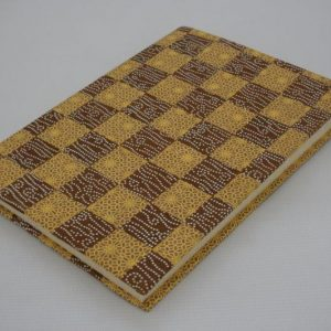 Weave Pattern Notebook