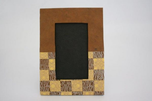 Weave Pattern Photo Frame