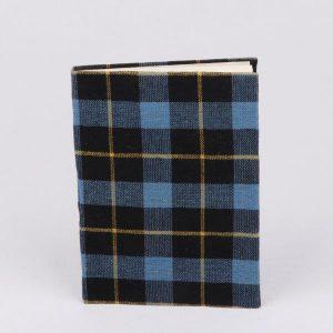 Stripe Fabric Cover Notebook