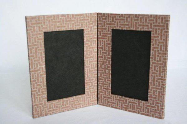 Dhukuti Printed Double Photo Frame