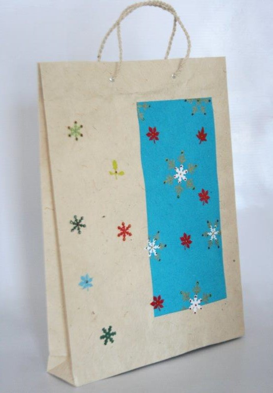Christmas Design Shopping Bag