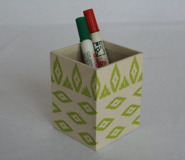 Dhaka All Over Printed Pencil Holder