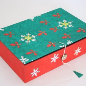 Christmas Design Cookies Box