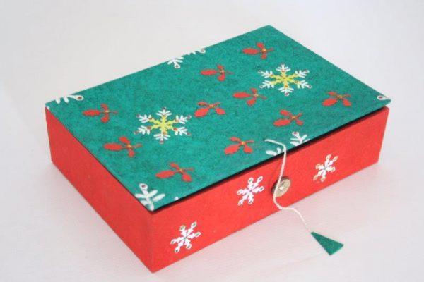 Christmas Design Cookies Box
