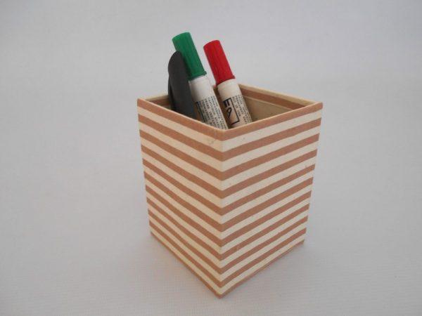 Dot Stripe Range Pencil Holder