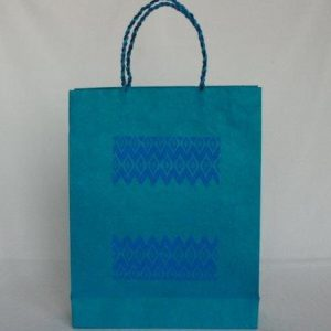 Dhaka Boarder Printed Shopping Bag