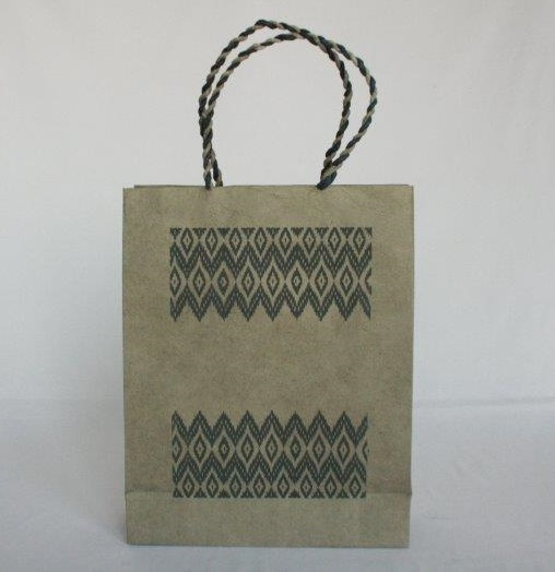 Dhaka Boarder Printed Shopping Bag