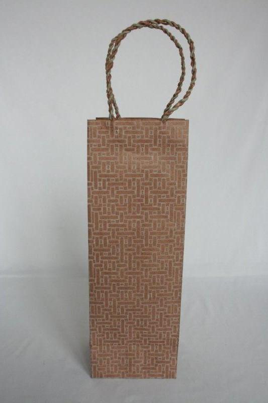 Dhukuti Print Wine Bag