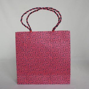 Dhukiti Print Shopping Bag